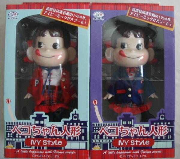 今年は発売が年明け・・・♪セブンイレブン限定ペコちゃん人形は1964年アイビースタイル毎年12月になると「セブンイレブン・ペコちゃん人形シリーズ」の発売なのですが